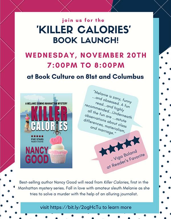 kiler calories book launch invite